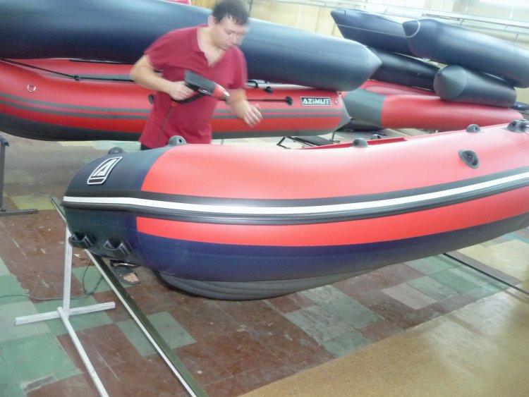 лодка с надувным дном низкого давления казань